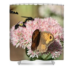 Busy Days Shower Curtain