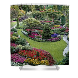 Butchart Gardens Shower Curtain