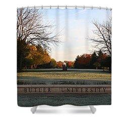 Butler University Mall Shower Curtain by Dan McCafferty