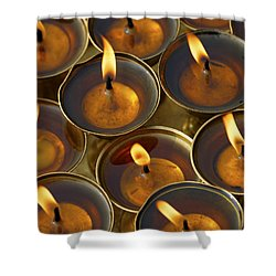 Butter Lamps Shower Curtain
