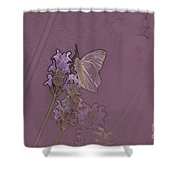 Butterfly 2 Shower Curtain by Carol Lynch