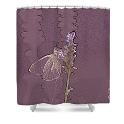 Butterfly 3 Shower Curtain by Carol Lynch