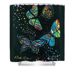 Butterfly Beauties Shower Curtain