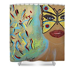 Butterfly Moment Shower Curtain