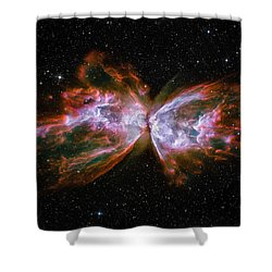 Butterfly Nebula Ngc6302 Shower Curtain