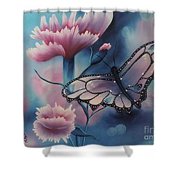 Butterfly Series 6 Shower Curtain