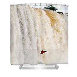 Shower Curtain featuring the photograph Butterfly by Silvia Bruno