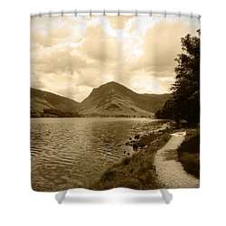 Buttermere Bright Sky Shower Curtain