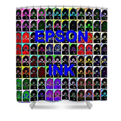 Buy Epson Ink Shower Curtain