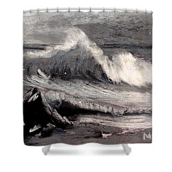 By Albert Bierstadt Shower Curtain by Maria Leah Comillas