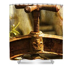 By Appointment  Shower Curtain