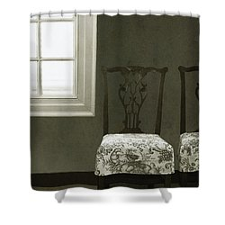 By The Window Shower Curtain by Margie Hurwich