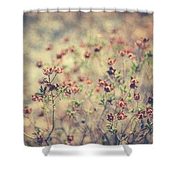 By Your Side Shower Curtain by Taylan Apukovska