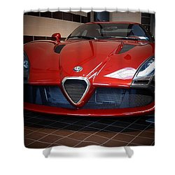 By Zagato Shower Curtain