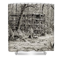 Bygone Days Shower Curtain