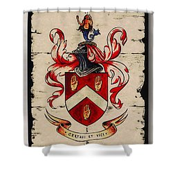 Byrne Coat Of Arms Shower Curtain