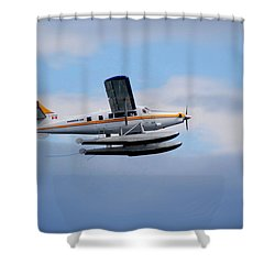 C-frno Shower Curtain by Mark Alan Perry
