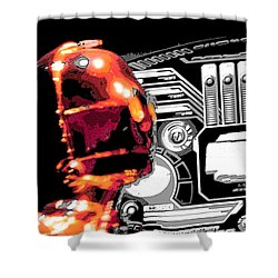 C3po Shower Curtain by J Anthony
