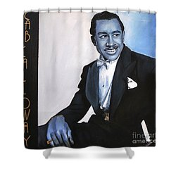 Cab Calloway Shower Curtain