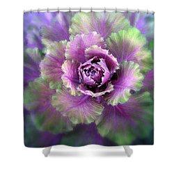 Cabbage Flower Shower Curtain