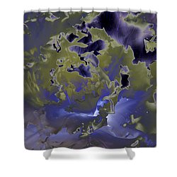 Cabbage Shower Curtain by Patrick Kessler