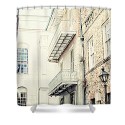 Cabildo Alley Shower Curtain