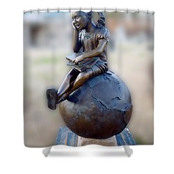 Shower Curtain featuring the photograph Cabin Fever Sculpture by Pete Trenholm