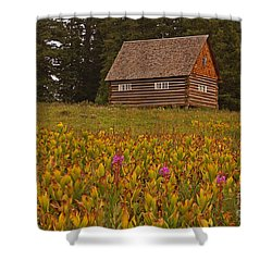 Cabin On Grand Mesa Shower Curtain