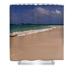 Cable Beach Bahamas Shower Curtain by Kimberly Perry