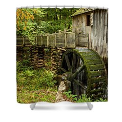 Cable Mill Cades Cove Shower Curtain