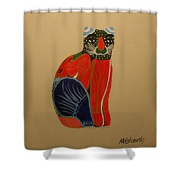 Cabo Gato Shower Curtain
