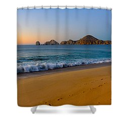 Cabo San Lucas Morning Shower Curtain by Mark Goodman