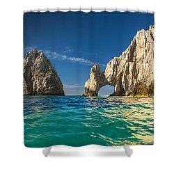 Cabo San Lucas Shower Curtain by Sebastian Musial