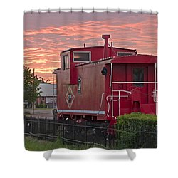 Caboose 1 Shower Curtain