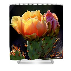 Cactus Blossom Shower Curtain