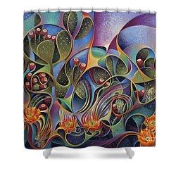 Cactus Dinamicus Shower Curtain