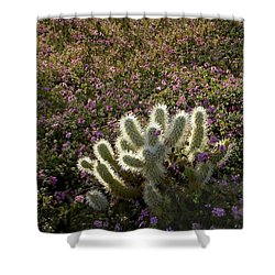 Cactus Surprise Shower Curtain