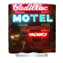 Cadillac Motel Shower Curtain