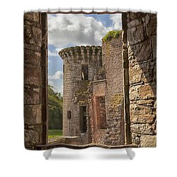 Caerlaverock Castle Shower Curtain