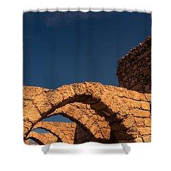 Caesarea Shower Curtain
