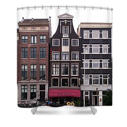 Cafe Pollux Amsterdam Shower Curtain