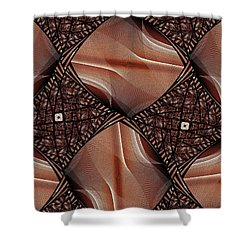 Caffeinated Shower Curtain by Anastasiya Malakhova