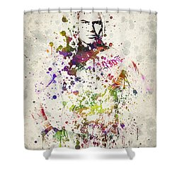 Cain Velasquez Shower Curtain by Aged Pixel
