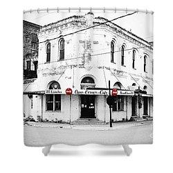 Cajun Corner Cafe Shower Curtain by Scott Pellegrin