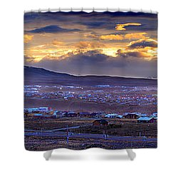 Calafate Panoramic Shower Curtain by Bernardo Galmarini