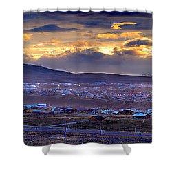 Calafate Panoramic Shower Curtain