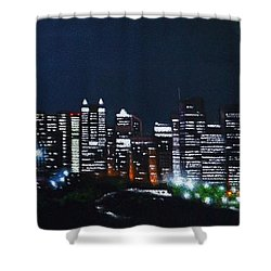Calgary Canada No Moon Shower Curtain