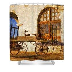 Caliente Hacienda Shower Curtain