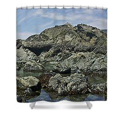 California Beach 2 Shower Curtain