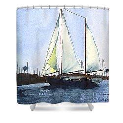 California Dreamin II Shower Curtain by Kip DeVore